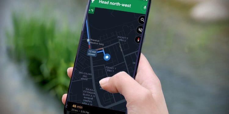ডার্ক মোড সুবিধা যুক্ত হলো Google Maps