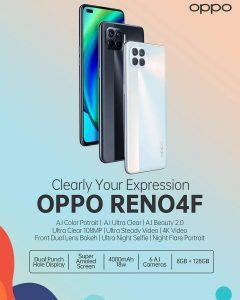 ভারতে 12 অক্টোবর লঞ্চ হবে স্লিক ডিজাইনযুক্ত OPPO Reno4 F