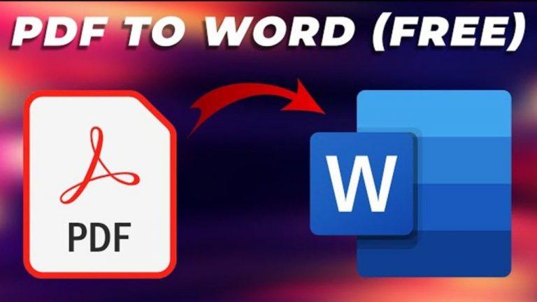 PDF ফাইল থেকে WORD ফাইলে কিভাবে কনভার্ট করবেন? জেনে নিন সহজ উপায়