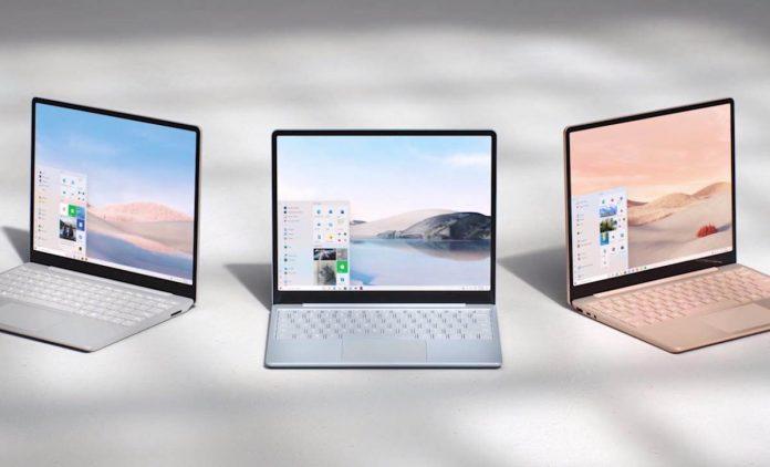 দেখে নিন Microsoft সস্তায় লঞ্চ করলো Surface Laptop Go ও Surface Pro X